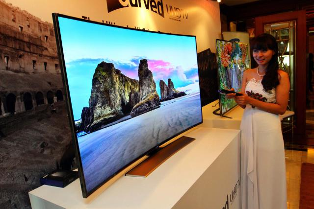 harga tv curved samsung